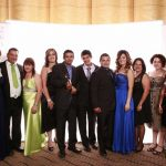 Family shot from the Australian Small Business Champion Awards 2013 - WINNERS