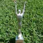 Our trophy for winning Australian Small Business Champion Awards 2013