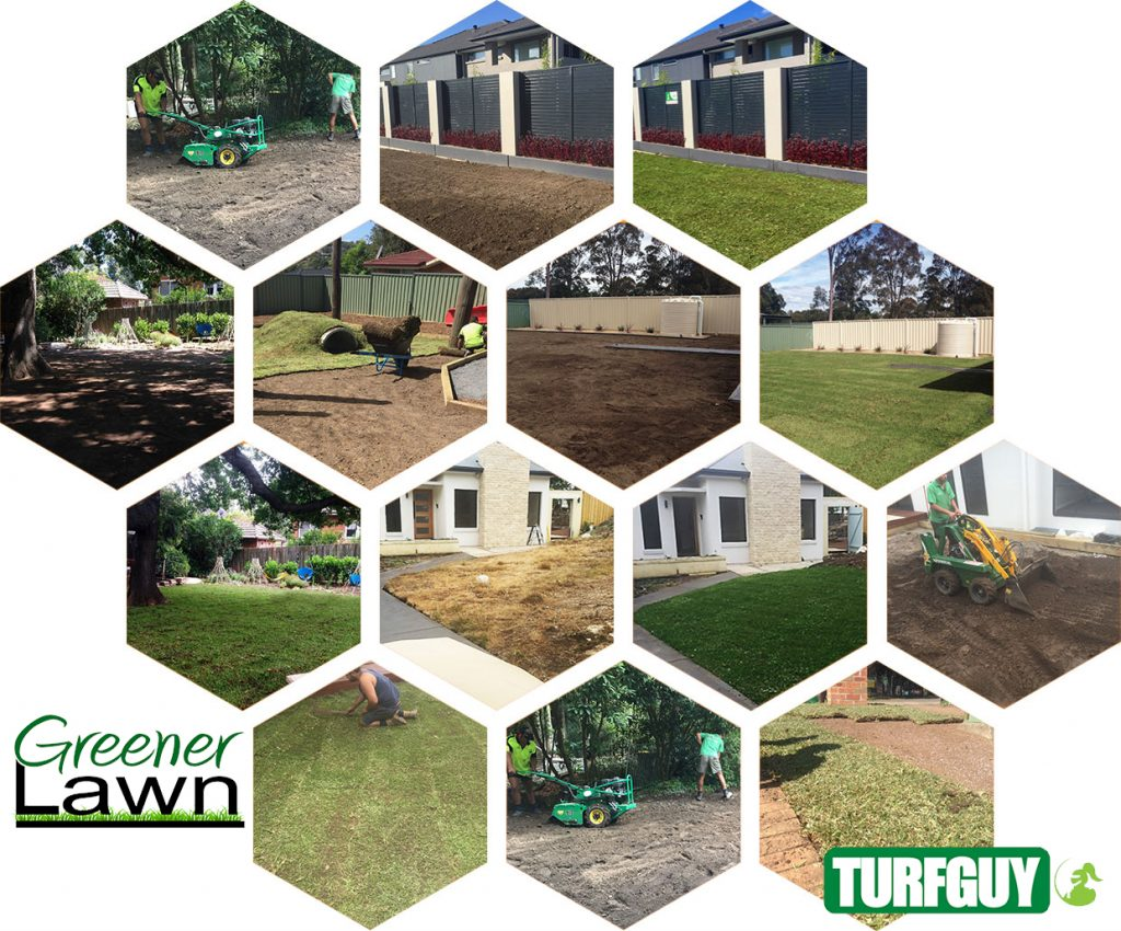 Turf Installation Photos