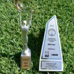 Trophy collection - Australian Small Business Champion Awards 2013 and Hawkesbury Local Business Awards 2012