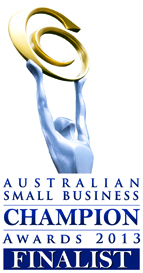 Australian Small Business Champions Finalist 2013
