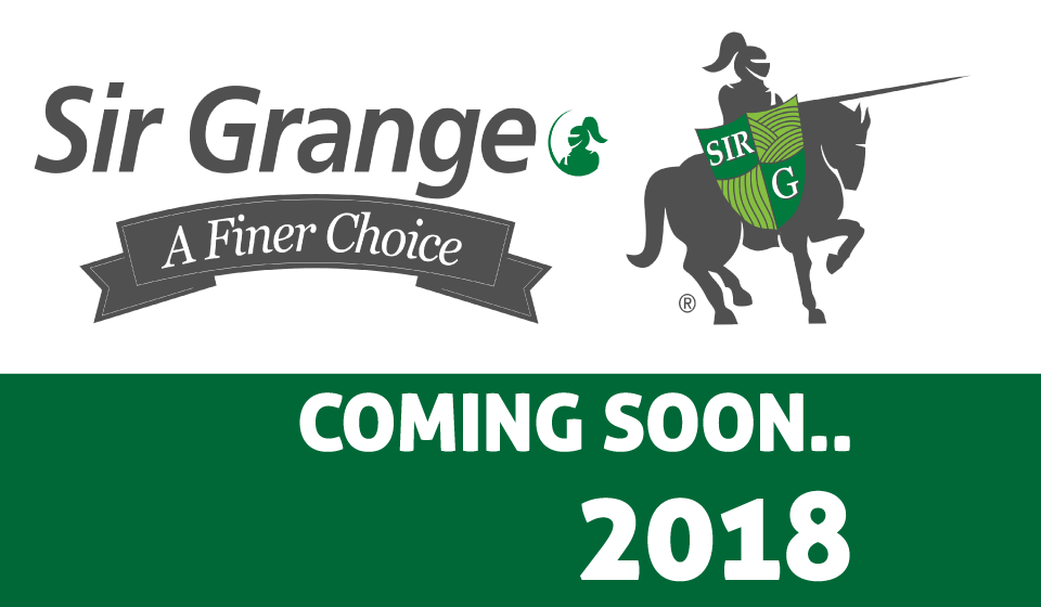 Sir Grange Coming Soon - 2018